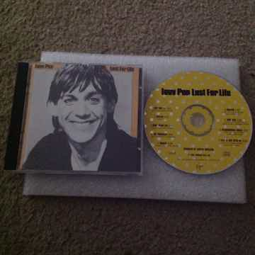 Iggy Pop - Lust For Life RCA Records Compact Disc  Davi...