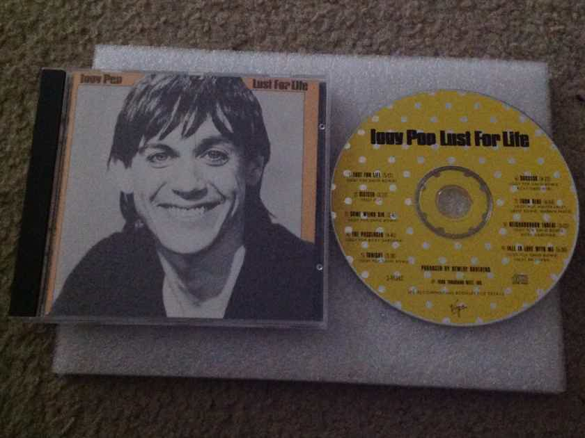 Iggy Pop - Lust For Life RCA Records CD David Bowie Producer