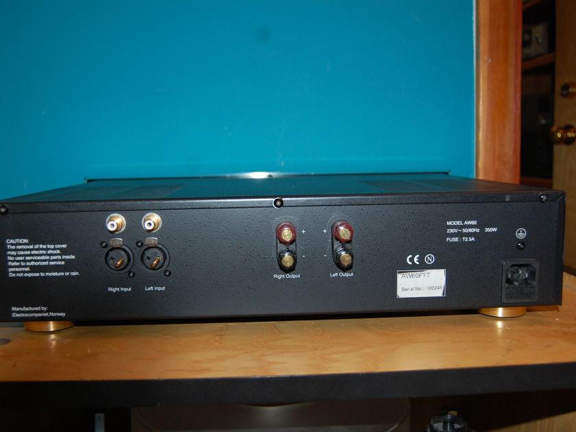 Electrocompaniet AW-60FTT Class A Stereo Power Amplifier