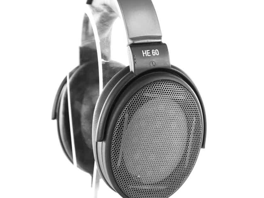 Sennheiser HE60 Vintage Electrostatic Open Back Headphones; HE-60; Mint in Factory Box (21067)