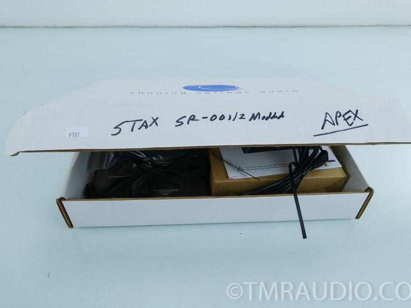 Stax SR-001 Mk 2 Electrostatic Headphones; Upgraded / Modded(9181  )