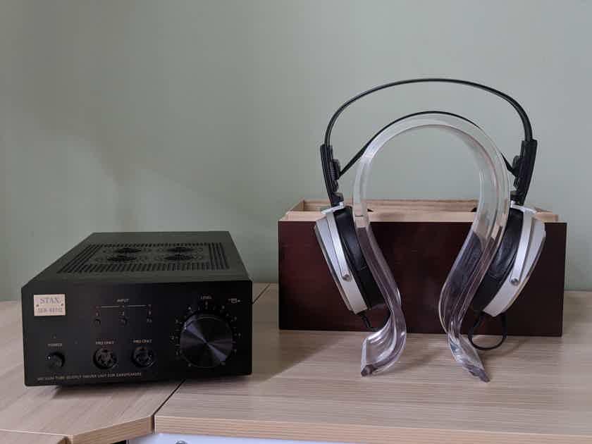 Stax SR-009 Headphones and SRM007tII Amp