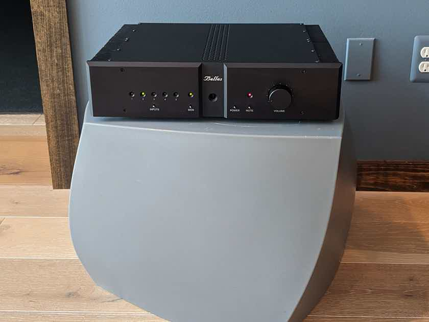 Belles Soloist 1 Integrated Amplifier in Black Finish