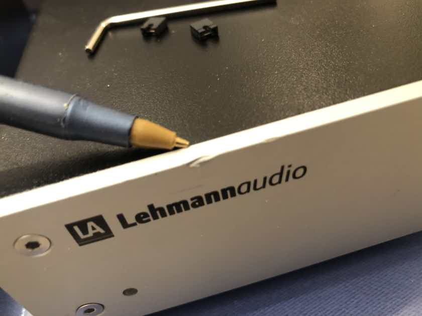 Lehmann Audio Black Cube SE II Statement Phono Preamplifer Preamp