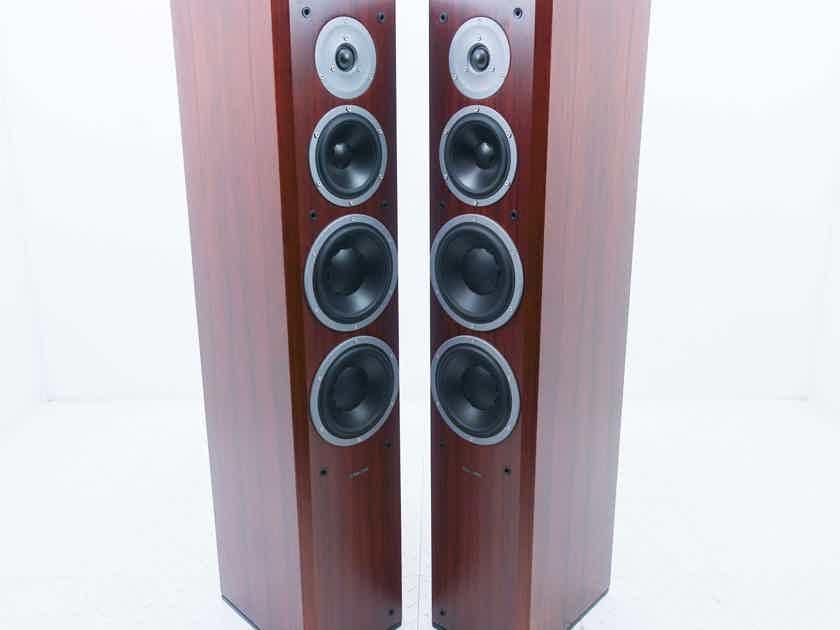 Dynaudio Focus 340 Floorstanding Speakers; Rosewood Pair (No grills) (14941)