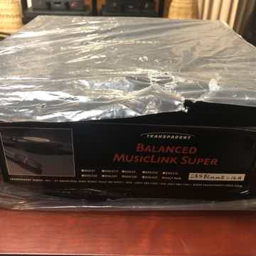 Balanced Musiclink Super MM2 Super 30ft 1/2 Pair