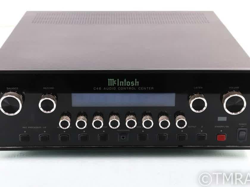 McIntosh Mcintosh C46 Stereo Preamplifier; Remote; MM Phono (27765)