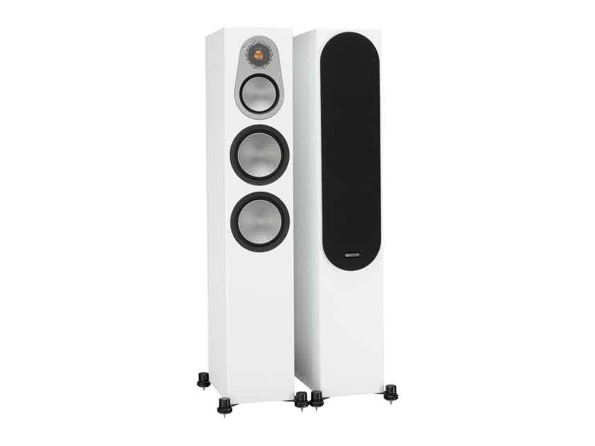 Monitor Audio Silver 300 Floorstanding Speakers: Excellent Condition B-Stock; 5 yr. Warranty*; 25% Off; Free Shipping