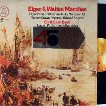 BOULT, LONDON PHILHARMONIC ELGAR & WALTON MARCHES ANGEL...