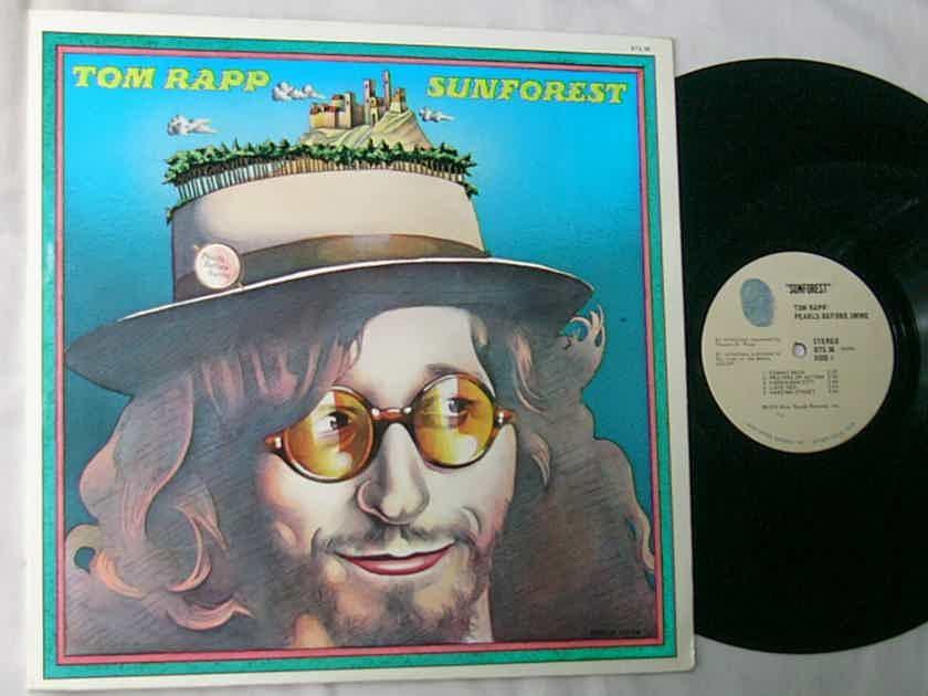 TOM RAPP / PEARLS BEFORE SWINE - - SUNFOREST - RARE ORIG 1973 LP -  ACID PSYCH FOLK - BLUE THUMB