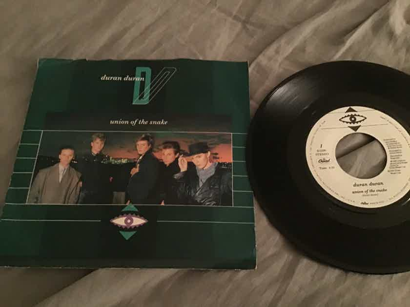 Duran Duran Union Of The Snake 45 With Picture Sleeve