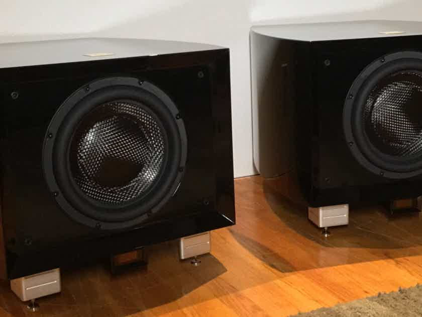 REL Gibraltar G1 MKI SUBWOOFER – 50% OFF LIST - GORGEOUS PIANO BLACK FINISH
