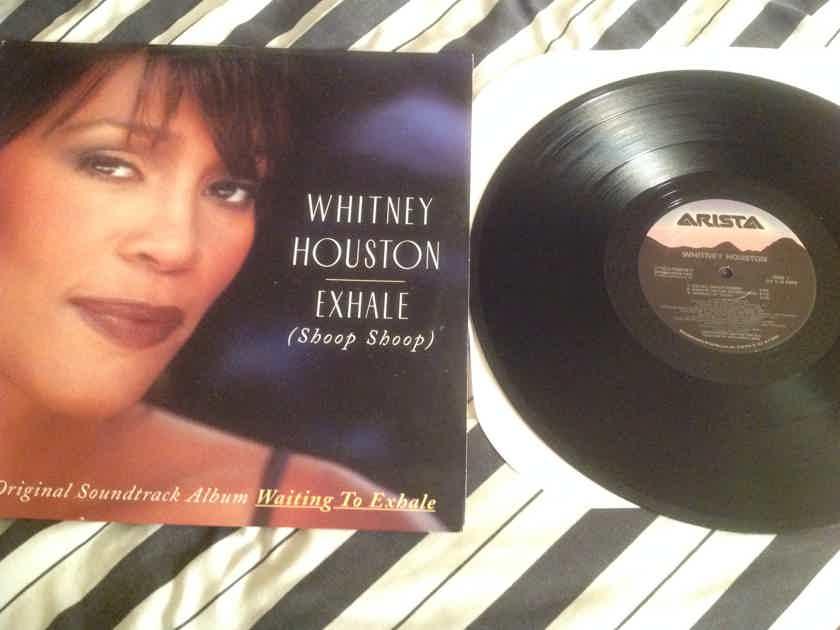 Whitney Houston Exhale(Shoop Shoop) 12 Inch EP Arista Records