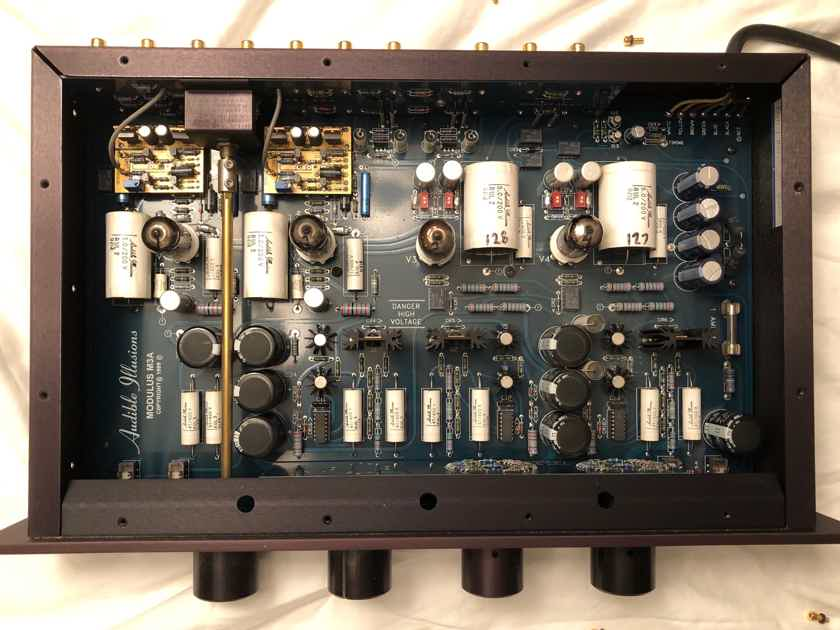 Audible Illusions Modulus 3A - classic tube preamp-original owner