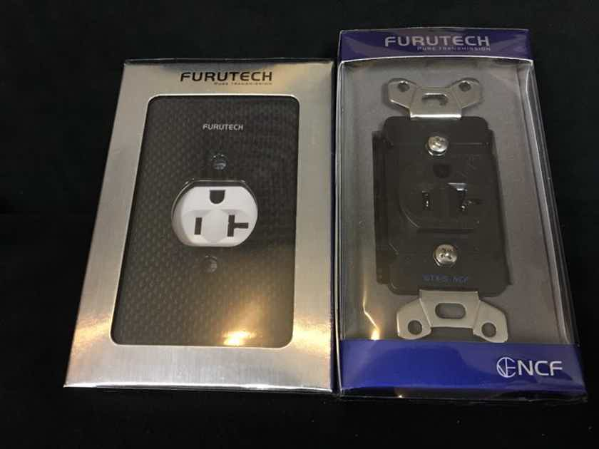 Furutech GTX-S NCF (R) & 103-S Outlet Cover 2 sets Like New !!