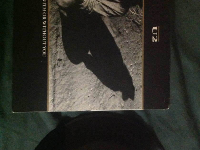 U2 - With Or Without You 3 Track EP NM Island Label
