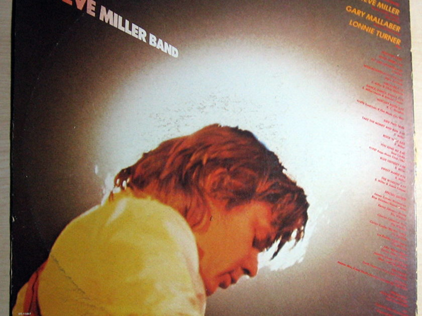 Steve Miller Band -  Fly Like An Eagle - Capitol Records ST-11497