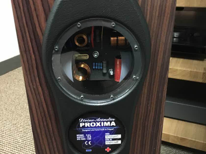"Divine Acoustics ""Proxima"" Loudspeakers, Brand New!"