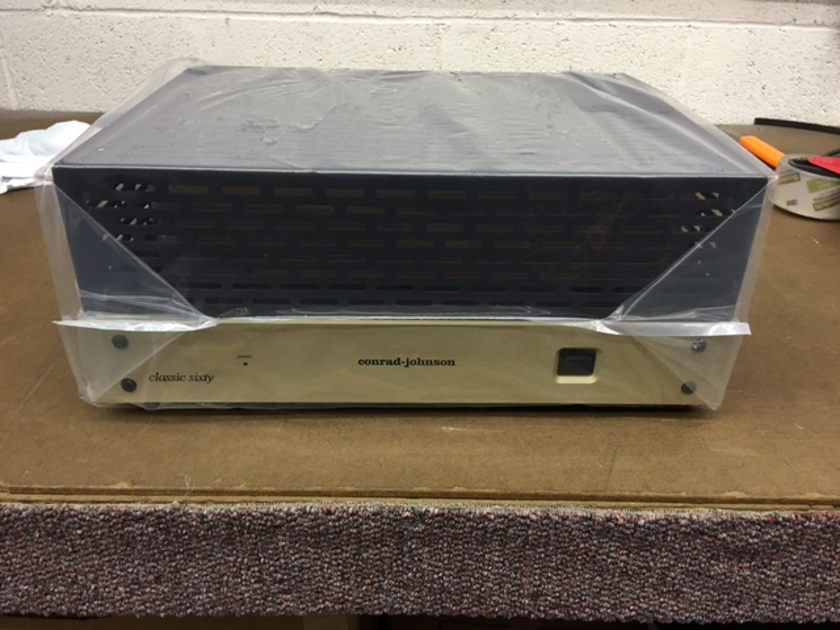 Conrad Johnson Classic 60 Classic 60SE W/ch Vacuum Tube Power Amplifier