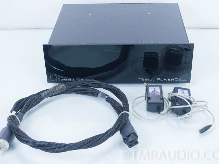 Synergistic Research Tesla PowerCell 6 Power Conditioner; Precision Ref AC Cord