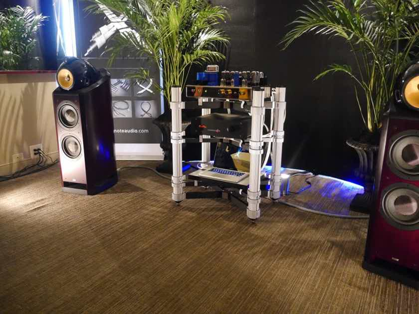 Silnote Audio Award Winning Digital 75 ohm Morpheus Reference Series II Ultra Pure Silver 24k Gold  World Class Reference