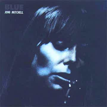 Joni Mitchell Blue - Reprise Orange Lable