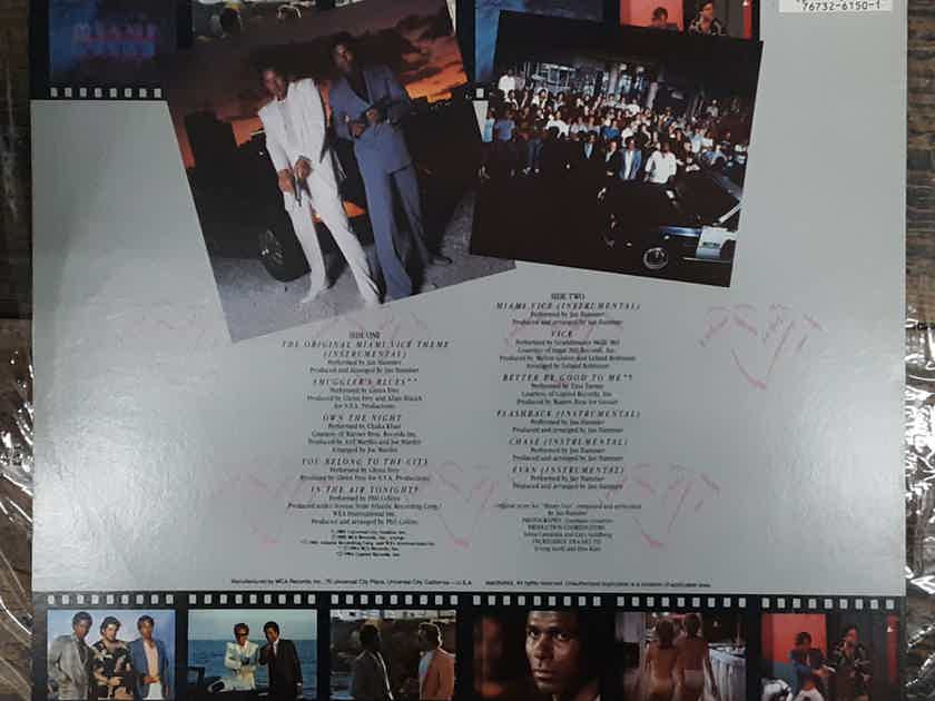 Various Artists Miami Vice (Music From The Television Series) 1985 MCA Records – MCA-6150