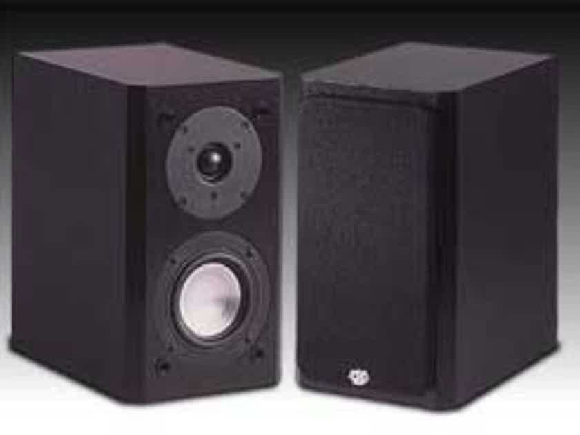 RBH Signature 41-SE Bookshelf Speakers Black Pair (New Old Stock) (15038)
