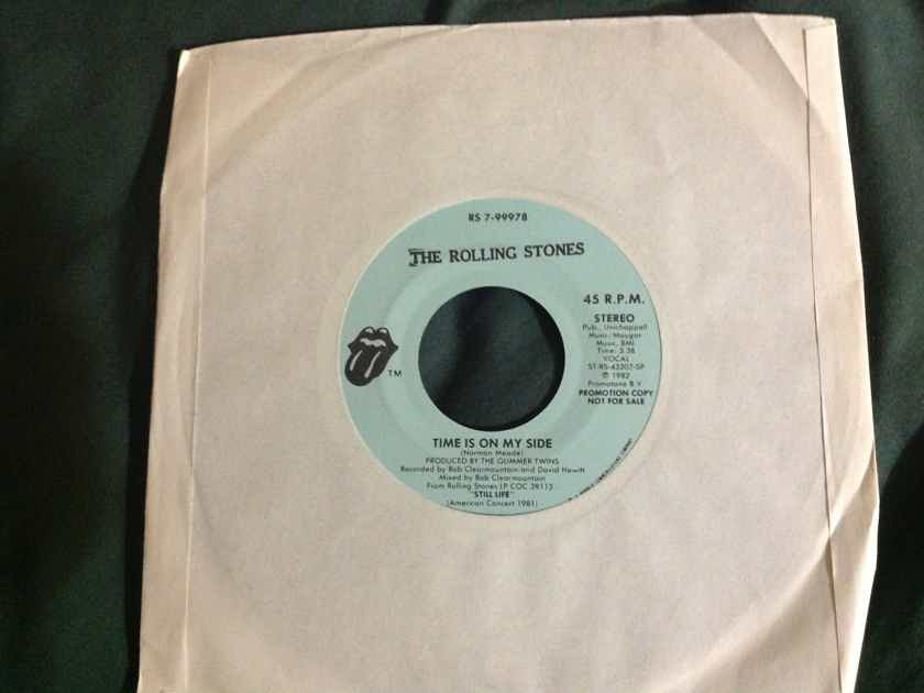 Rolling Stones - Time Is On My Side Rolling Stones Records Promo 45 Single Vinyl NM