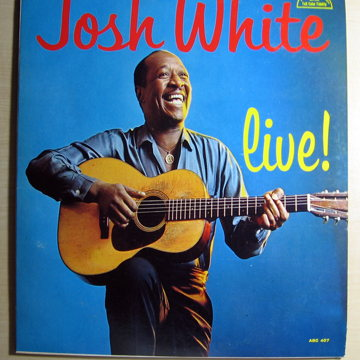 Josh White Live! - Original Mono