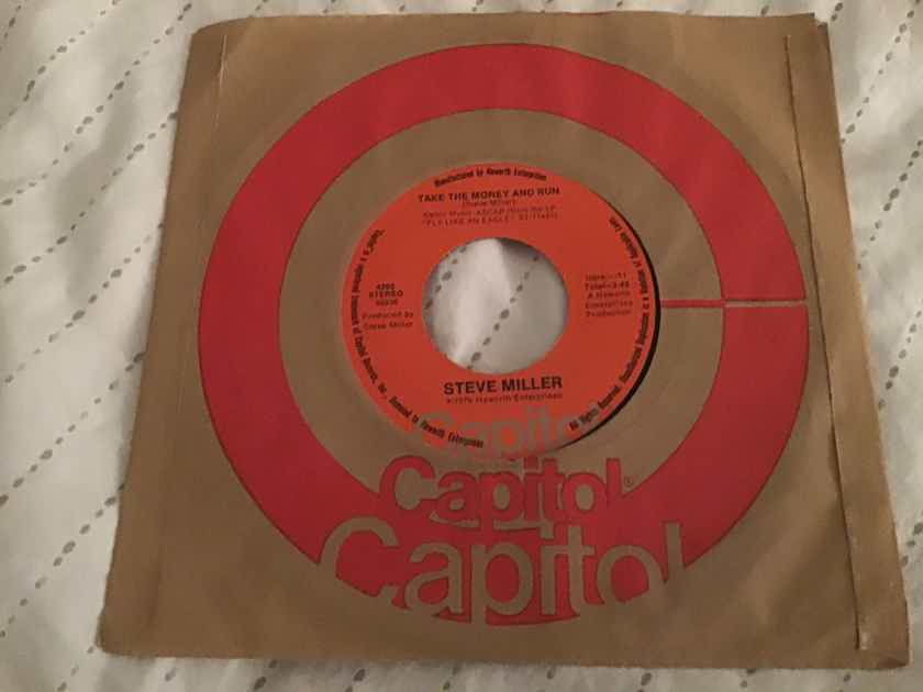 Steve Miller  Take The Money And Run/Sweet Maree 45  NM