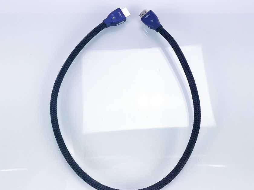 AudioQuest Vodka HDMI Cable; .6m Digital Interconnect (17387)