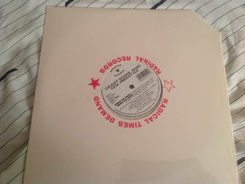 Crazy Eddie And QQ Freestyle  Nene De Ibizia Radikal Records Sealed 12 Inch