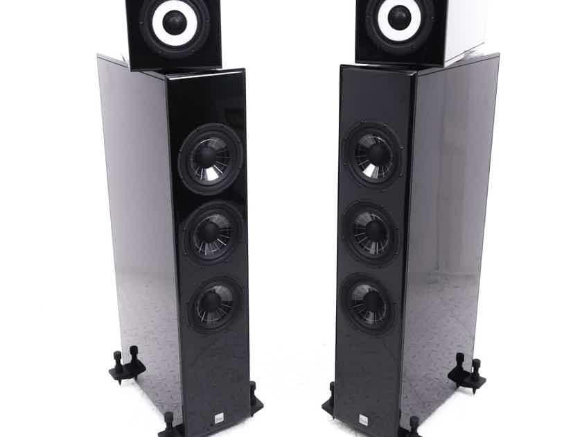 Vienna Acoustics Liszt Floorstanding Speakers; Piano Black Pair (21302)