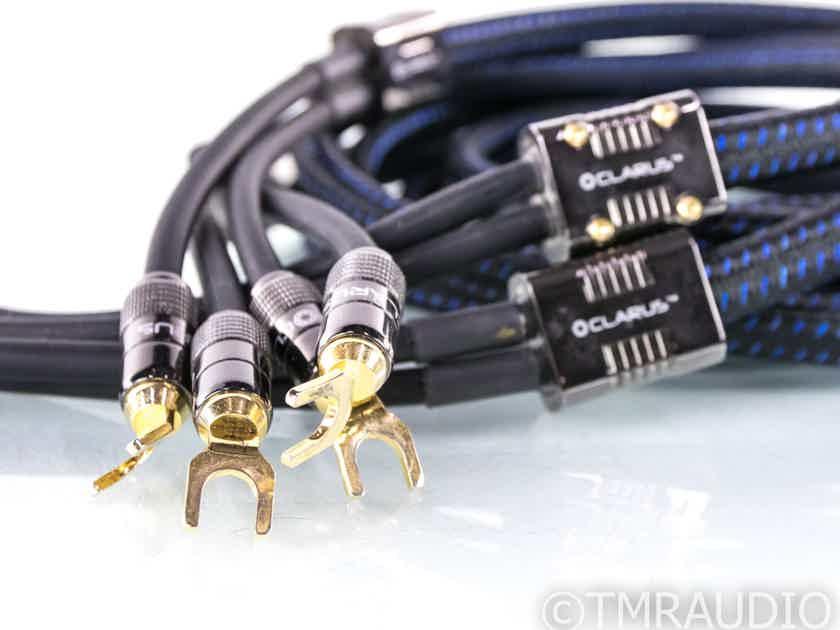 Clarus Aqua Speaker Cables; 8ft Pair (22374)