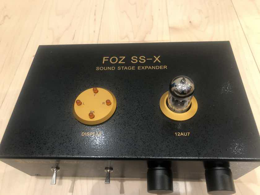 Black Ice Audio by Jolida Foz SS-X Soundstage Expander