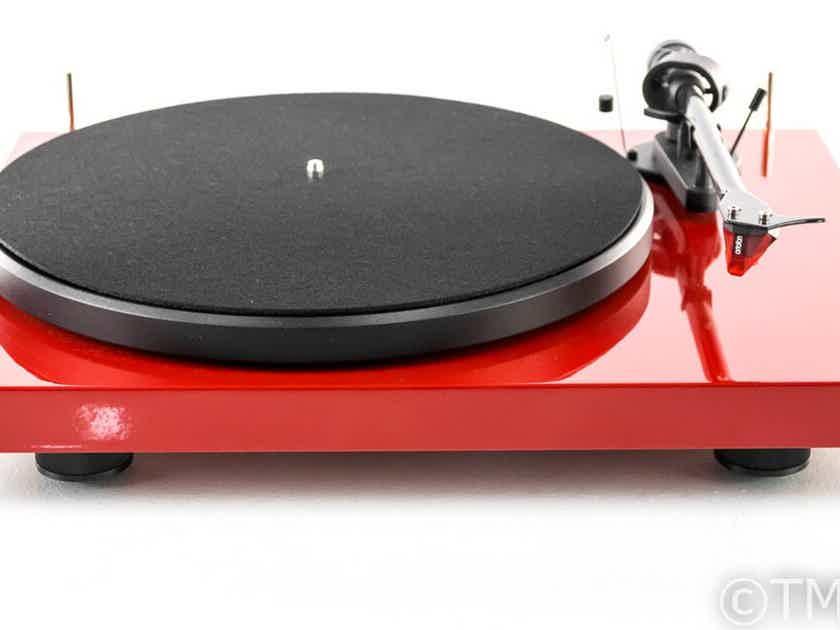 Pro-Ject Debut Carbon Belt Drive Turntable; Ortofon 2M Red Cartridge (26594)