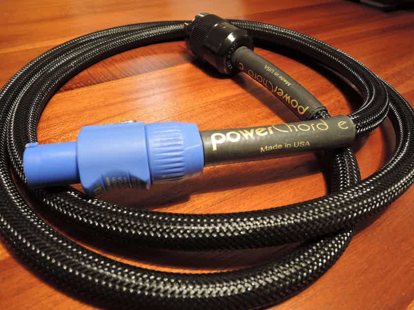 Audience powerChord-e with powerCON plug