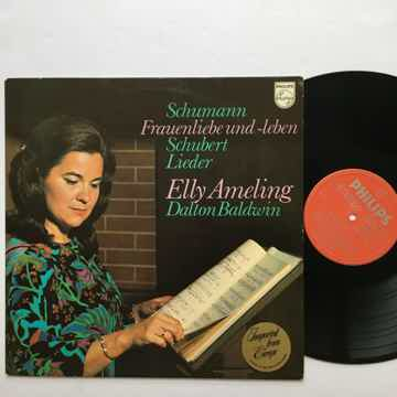 Schumann Schubert Lieder Elly  Ameling Dalton Baldwin Lp record Philips 6500 706 1974