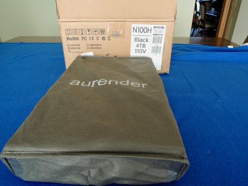 Aurender N100H 4TB Black Mint condition