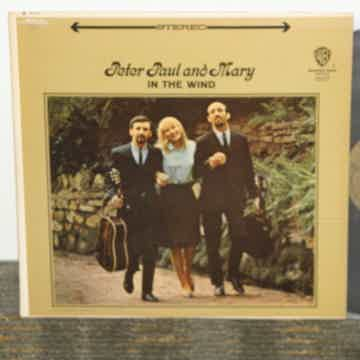 """Peter.Paul and Mary - """"In The Wind"""" WB 1507 Gold """"Vitap..."""