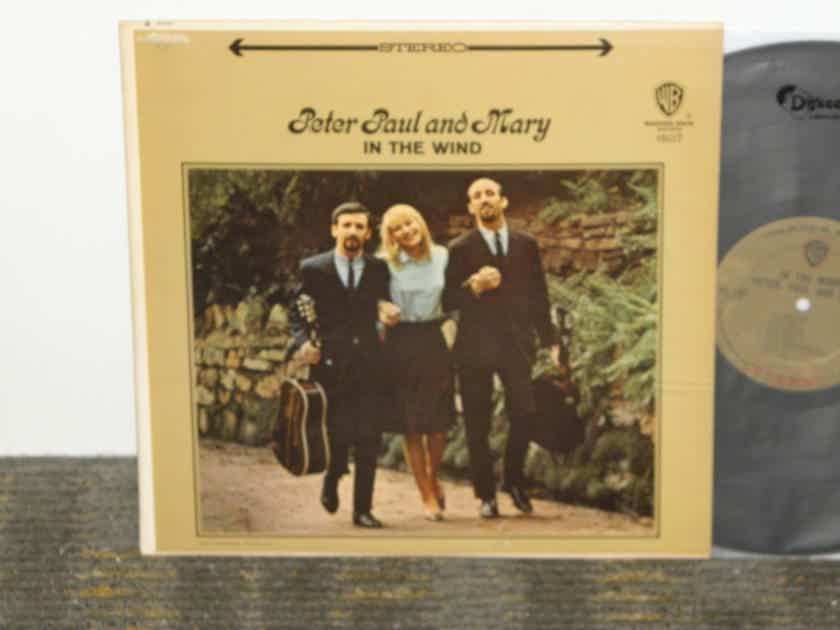 "Peter.Paul and Mary - ""In The Wind"" WB 1507 Gold ""Vitaphonic""  labels"
