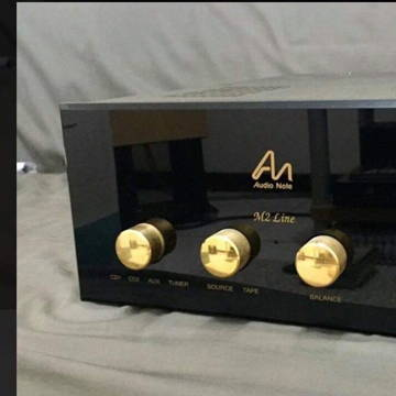 Audio Note (UK) M2 line preamplifier