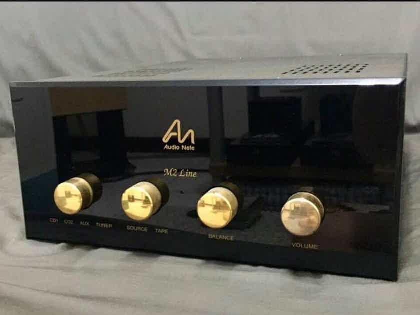 Audio Note (UK) M2 line preamplifier