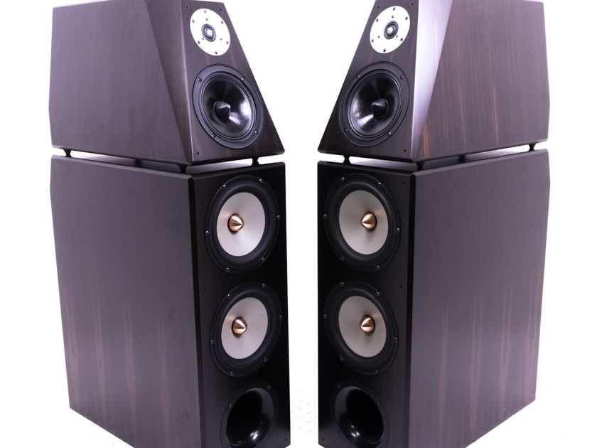 Von Schweikert VR-5SE Floorstanding Speakers; African Ebony Pair (20938)