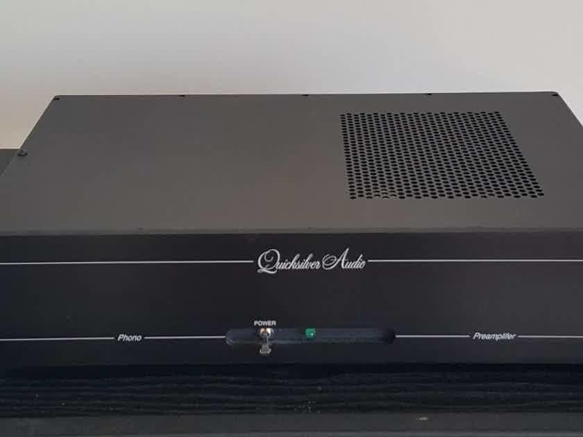 Quicksilver Phonostage latest 3-tube version