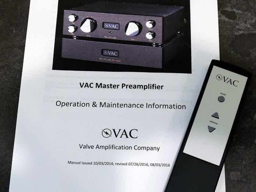 VAC Master Preamp (( Super Sweet ))