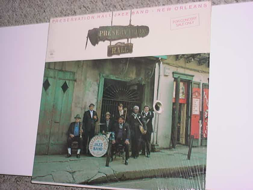 Preservation hall jazz band lp record  volume one Columbia m34549