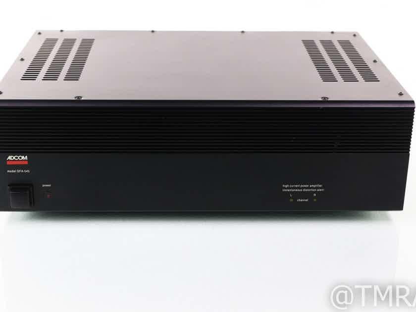 Adcom GFA-545 Stereo Power Amplifier; GFA545 (29016)