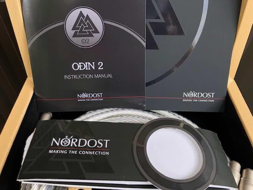 Price reduced - Nordost Odin 2, 7m (23 Feet) XLR interconnect